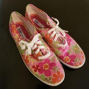 Keds original floral print sneakers